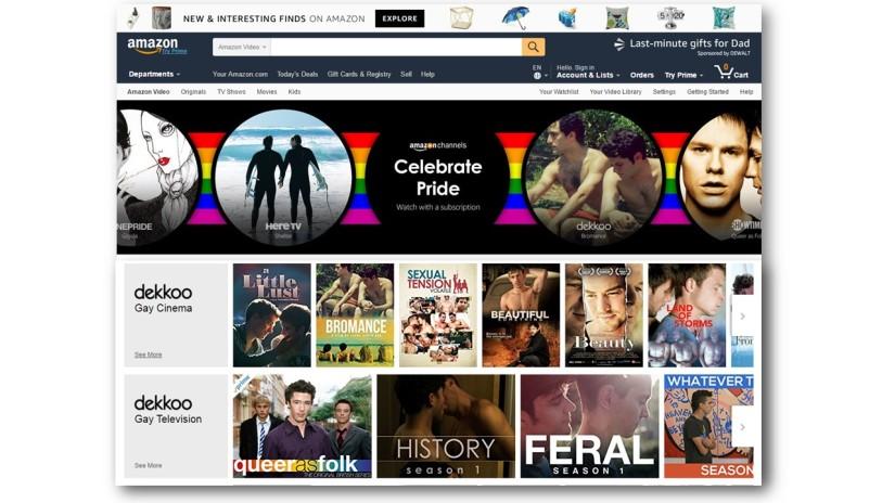 Spotlight on the Dekkoo Amazon Channel for Pride2017!