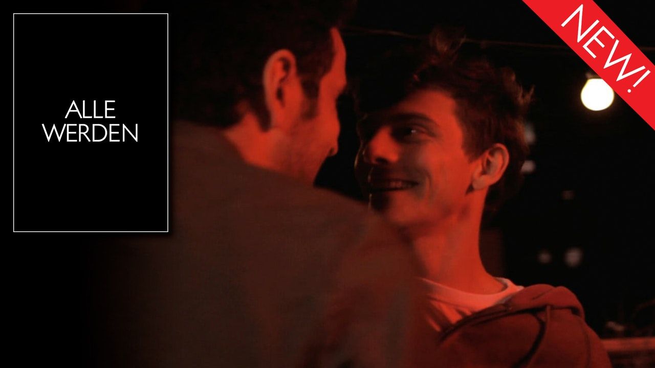 This is the artwork for the gay short film Alle Werden