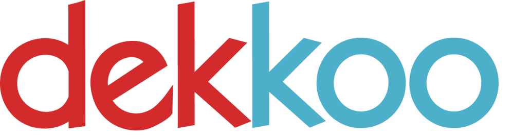 This is the logo for Dekkoo.com