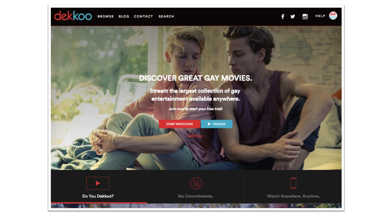 Gay blog sites with videos