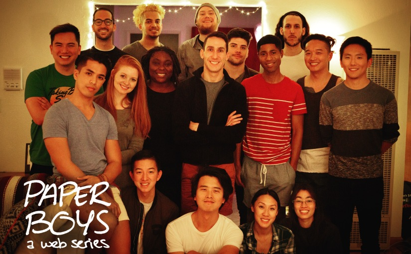 'Paper Boys' Season One Wraps Production!