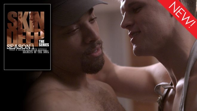 This is the art for the gay series 'Skin Deep: The Series'