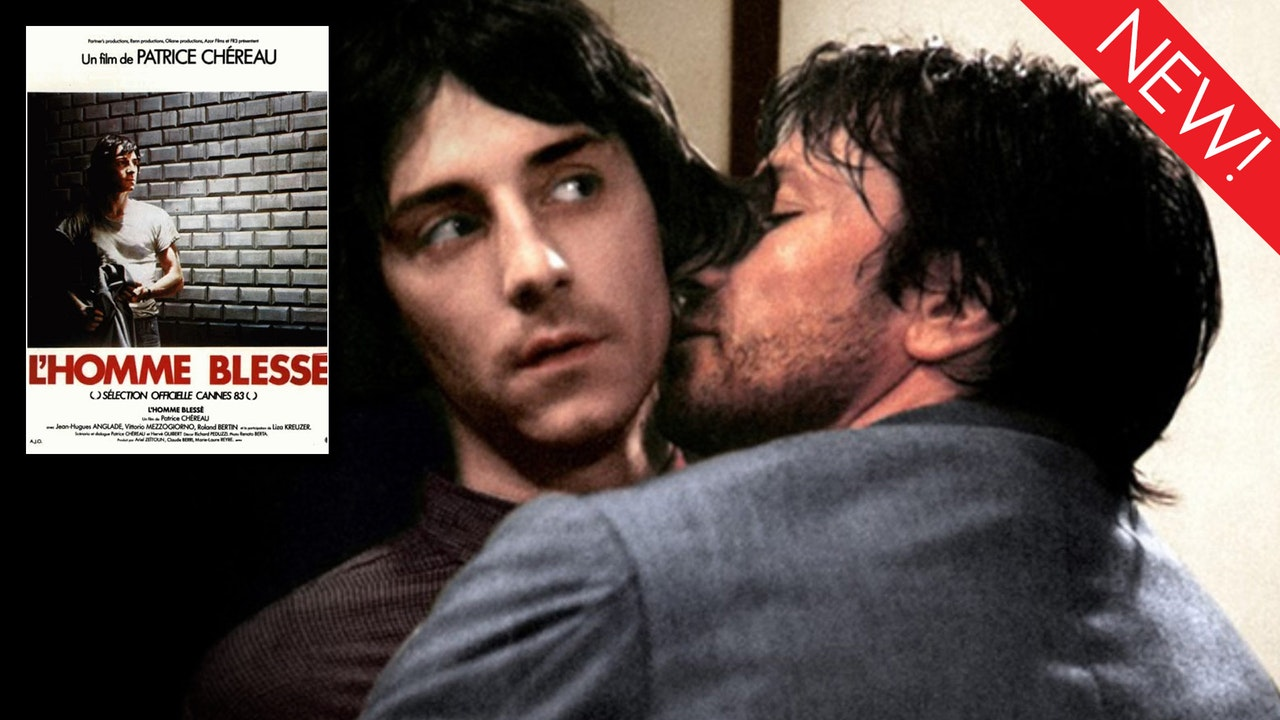 This is an image from the gay movie, l'Homme Blesse