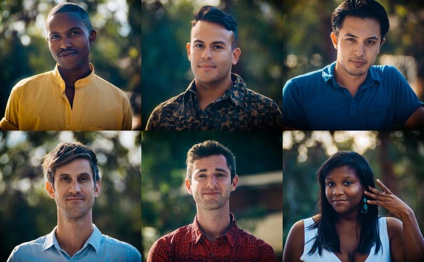 The cast of the Dekkoo-original series, I'm Fine