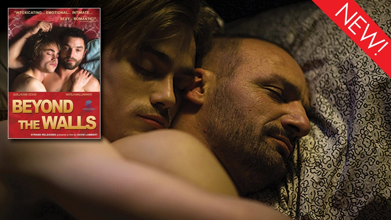 This is the art for the gay film, 'Beyond the Walls'
