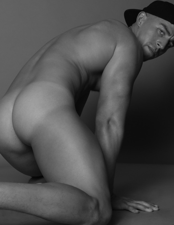 This is a photo of model Andres Alfaro by Marco Ovando