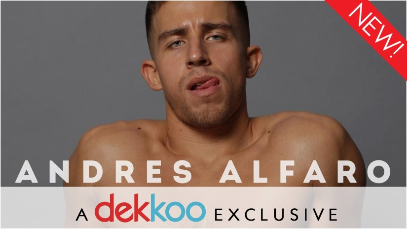 Marco Ovando drops sexy new Dekkoo-exclusive video! Commence drooling!