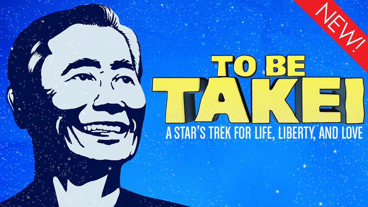 This is the art for the gay documentay, 'To Be Takei'