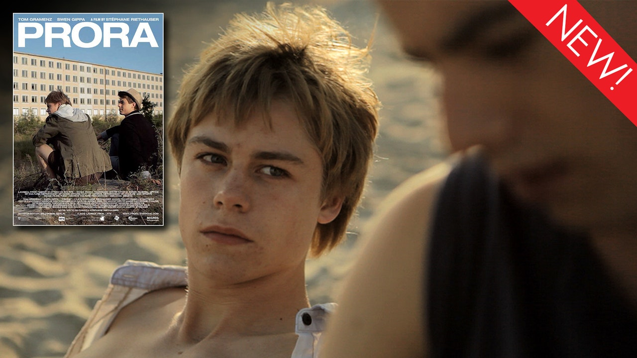 This is the art for the gay short film, 'Prora'