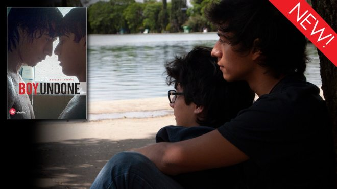 This is the art for the gay movie 'Boy Undone'
