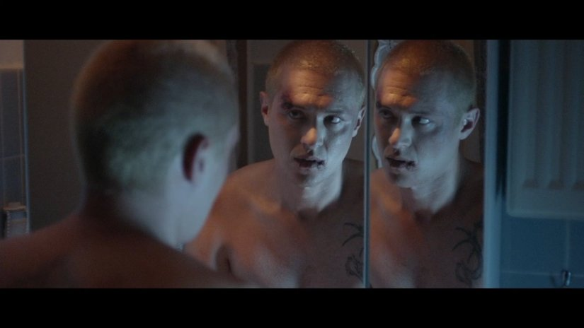 This is a still from Tor Iben's gay film, 'The Year I Lost My Mind'
