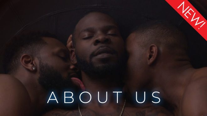 This is the art for the gay series, 'About Us'