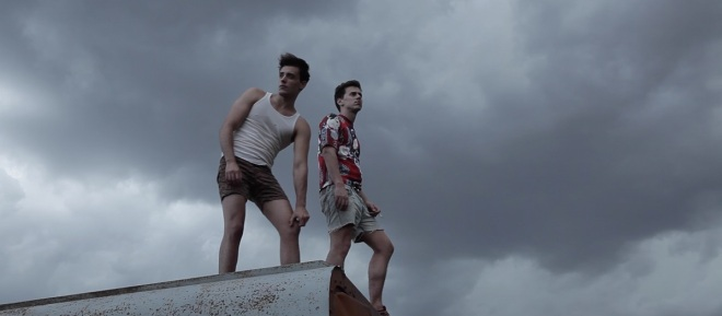 Still of Martin Karich and Nicolas Romeo from Jess & James