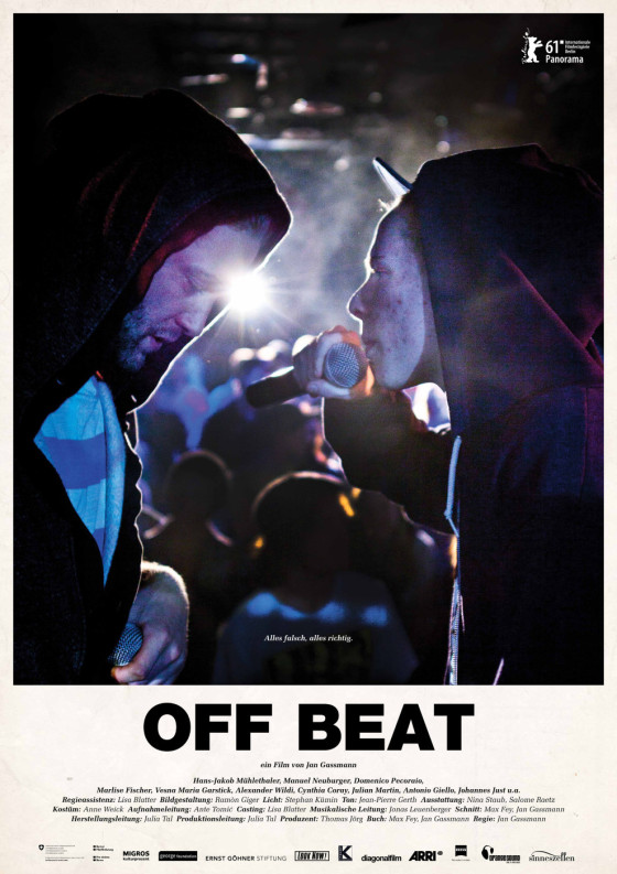 Jan Gassmann's Off Beat - Original Film Festival Poster Art