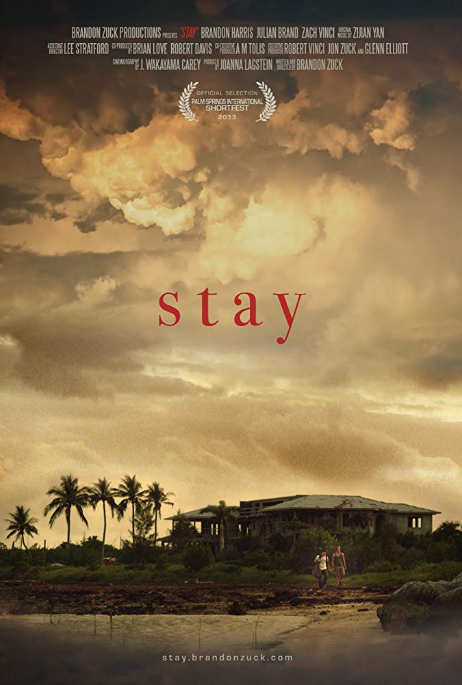 Original poster art for Stay, a short film by Brandon Zuck