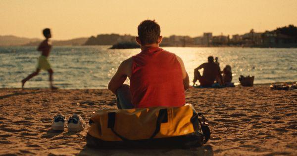 Felix on the beach
