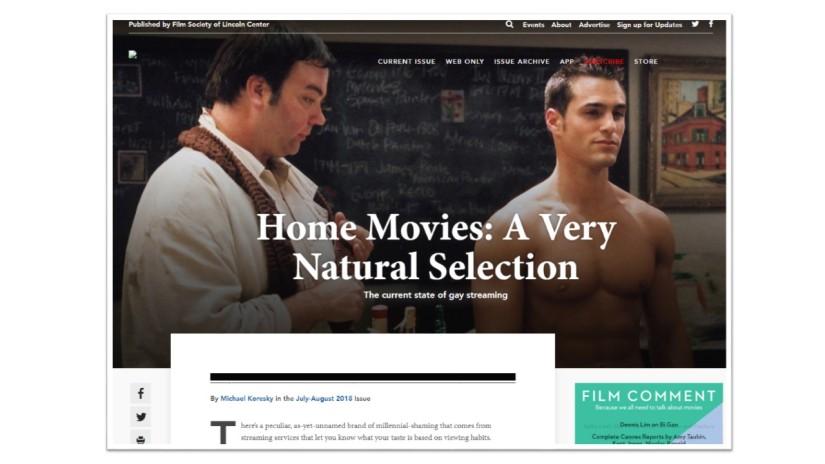 Film Comment Magazine toutsDekkoo!