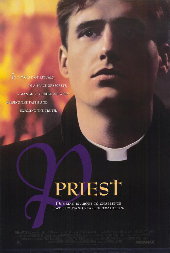 Original Poster Art for Priest - Now Streaming on Dekkoo