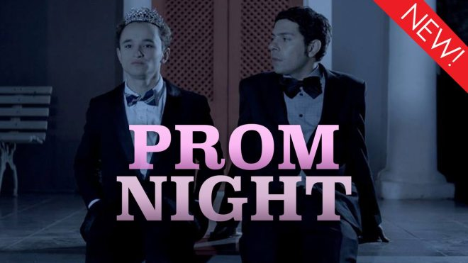 The gay short film 'Prom Night' is available now on Dekkoo