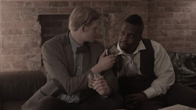 Jonathan Rentler and Lee Baptiste in Getting Off