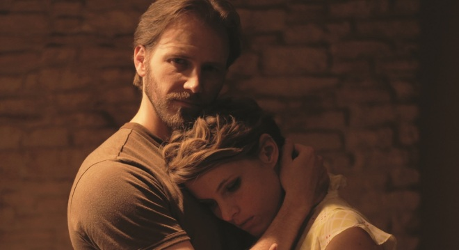 Bill Heck and Amy Seimetz in Pit Stop