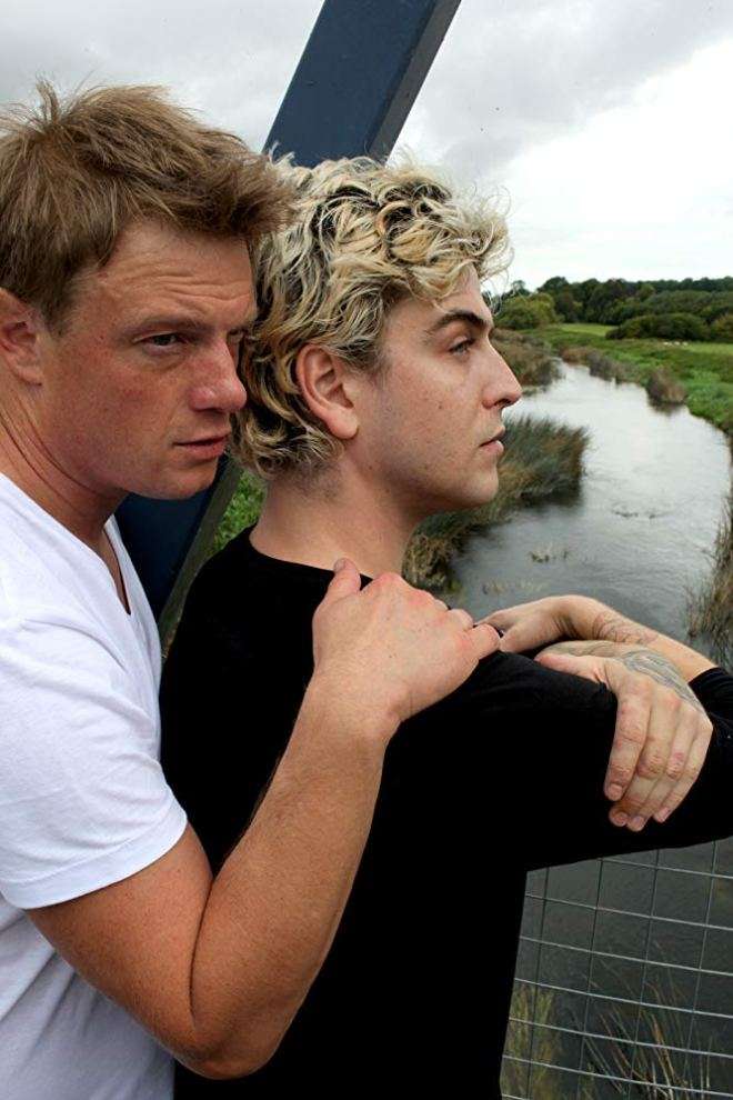 Wade Radford and Robbie Manners in Caught in a Landslide