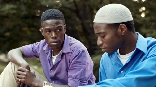 Kerwin Johnson Jr. and Curtiss Cook Jr. in Naz & Maalik