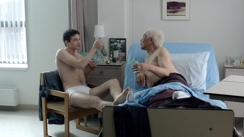 Pier-Gabriel Lajoie and Walter Borden in Gerontophilia