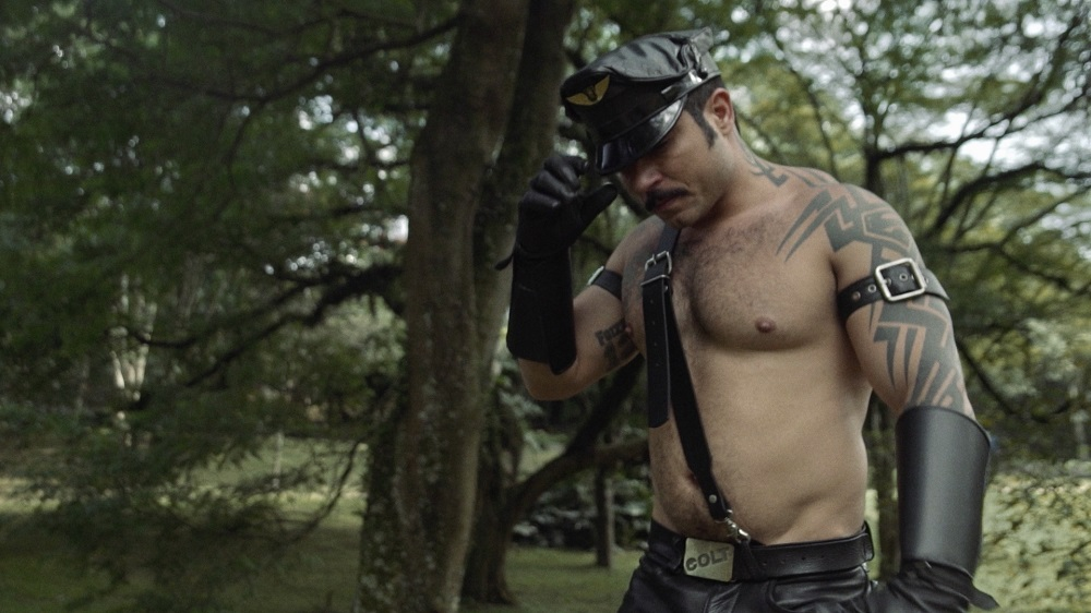 Still from Mr. Leather
