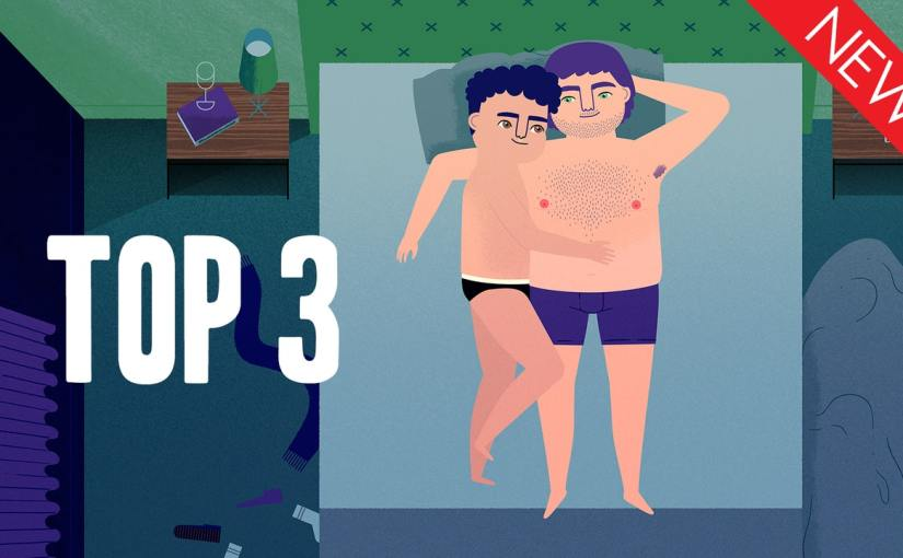 Watch the trailer for the short animated romantic comedy Top3!