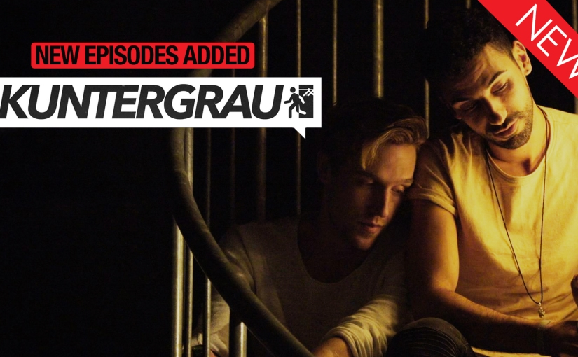 Five guys discover the meaning of love, sex and friendship in the gay series Kuntergrau