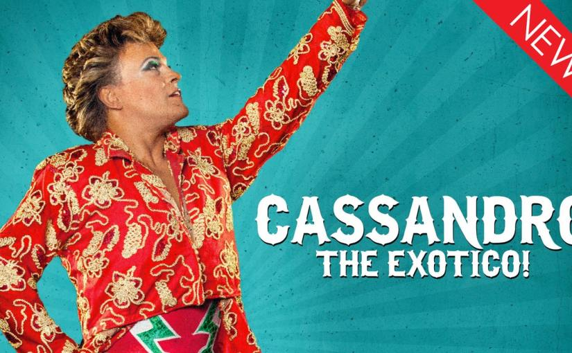Visit the fabulous, colorful world of Lucha Libre trailblazer Cassandro the Exotico