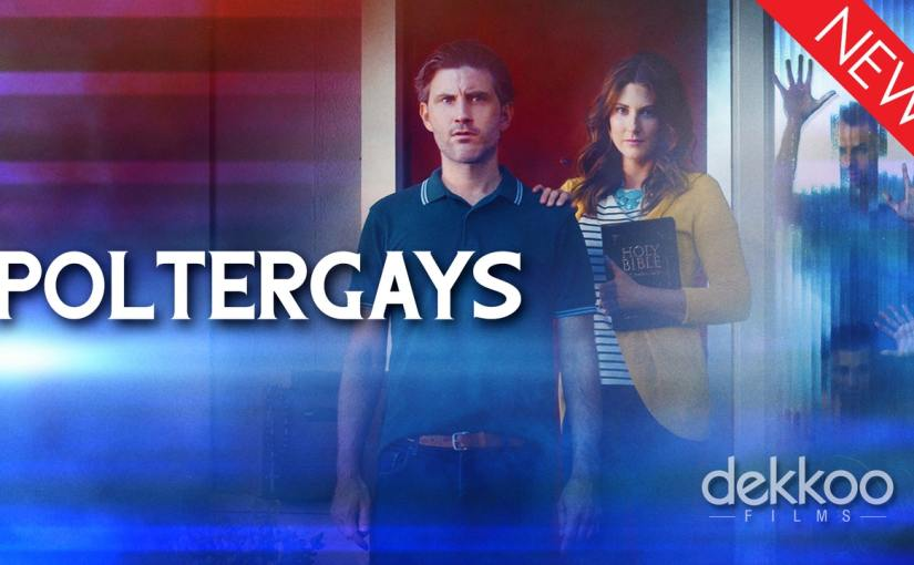A straight couple find their new home haunted in the short horror-comedy Poltergays