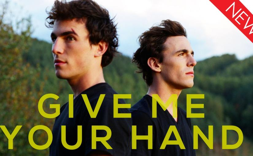 Twin brothers Alexandre andVictor Carrilare star in the French road movie Give Me YourHand
